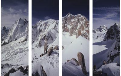 Novità nella sezione Montagne – Composizione Vertical Mont Blanc e Monte Rosa – 617